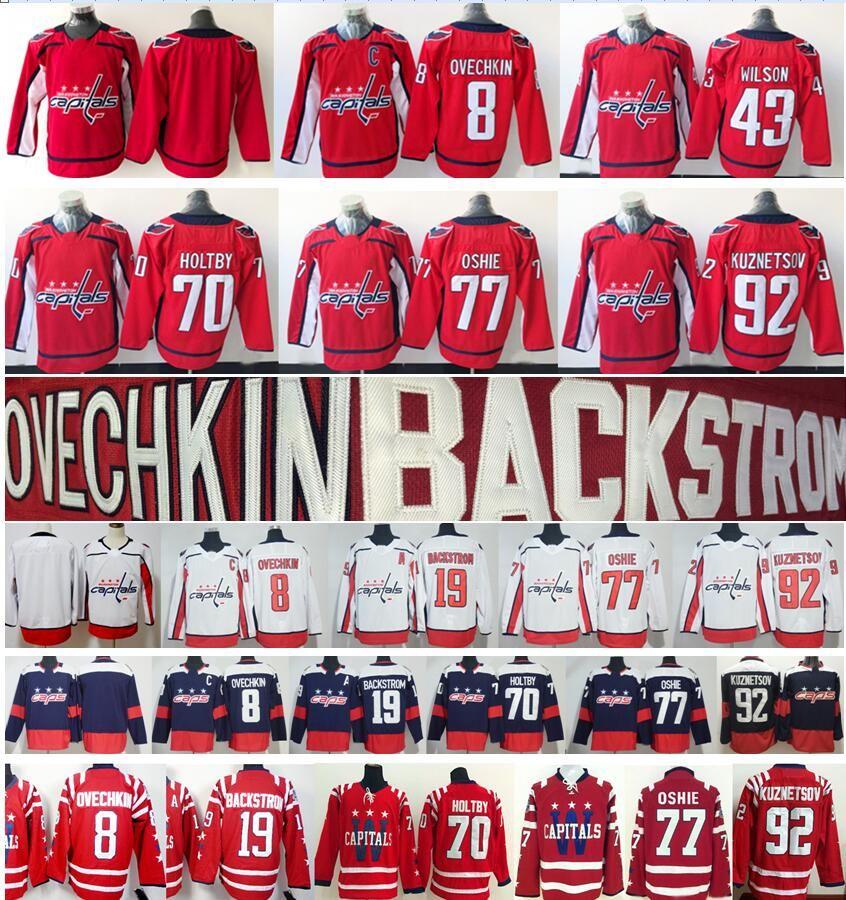 2019 2018 Stadium Series Washington Capitals 8 Alex Ovechkin Jerseys 19  Nicklas Backstrom 43 Tom Wilson Braden Holtby Oshie Men Women Kids Youth  From ... 1c36e012b
