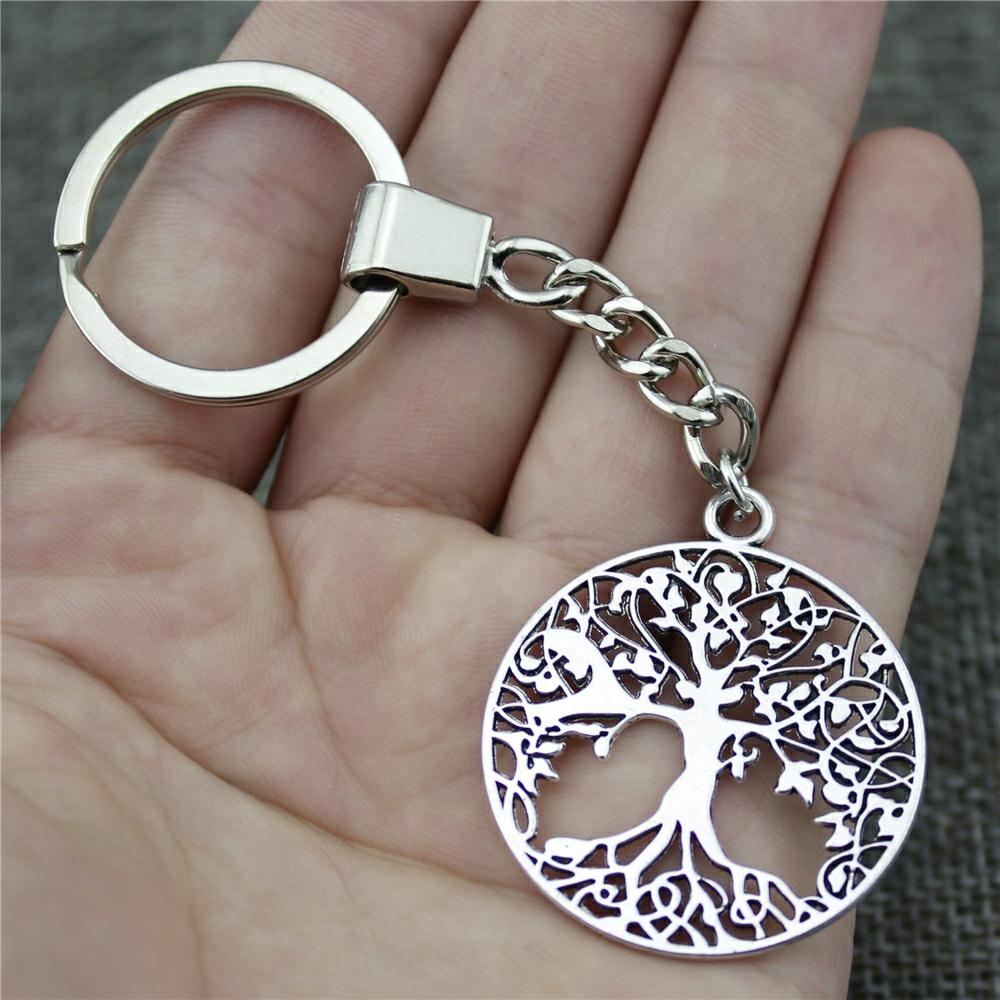 7bc7d9ec63 High Quality New Fashion 40*35mm 1.57*1.38 Inches Tree Of Life Key Chains  Fashion Keyring Gift Promotional Keyrings Custom Keyrings From  Watchesgreat, ...