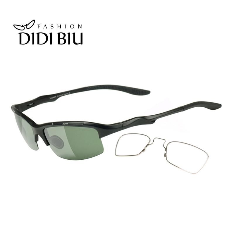 5626bb87476 DIDI Polarized Aluminium Men Military Sunglasses Clip On Customize Myopia Prescription  Eyeglasses Driving Opitical Sunglasses HN1042 Eyewear Designer ...