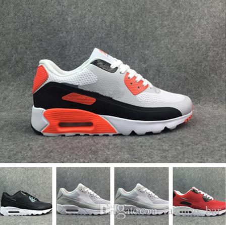 9b9f30dc807a37 90 Patch Running Shoes 90 Many Color Sneaker Authentic Trainer Sports Shoes  Size 40 45 With Box Spikes Shoes Best Running Shoe From Fashion bar