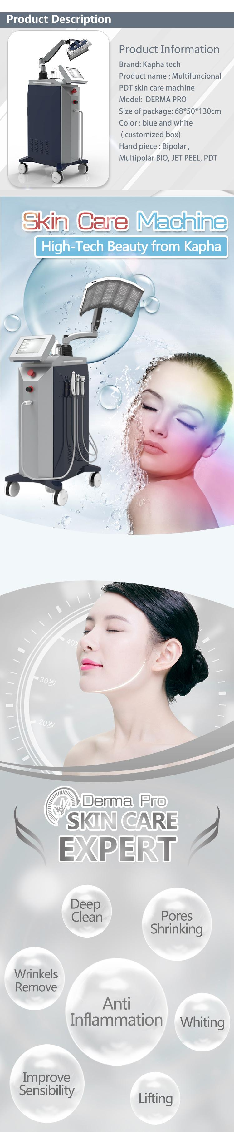 Hot in USA Photon Therapy LED Facial Mask Skin Rejuvenation PDT skin care beauty machine face & neck for salon use
