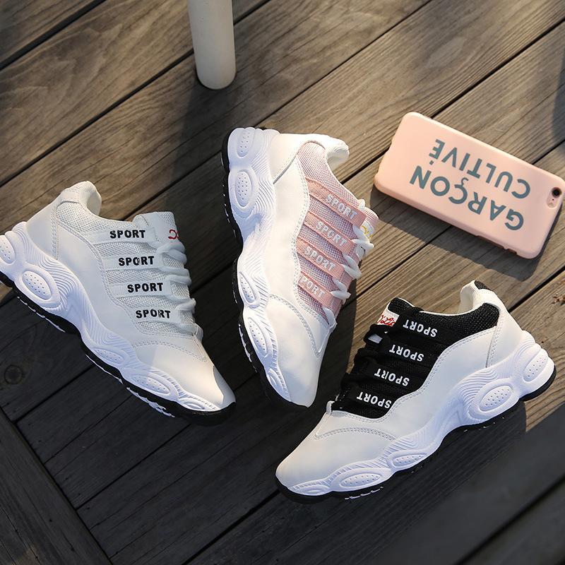 Acheter 2018 Coréen Femmes Sneakers D été Tenis Feminino Chaussures Casual  Chaussures De Marche En Plein Air Femmes Appartements Rose Dames Chaussures  ... 64bda0dda6b