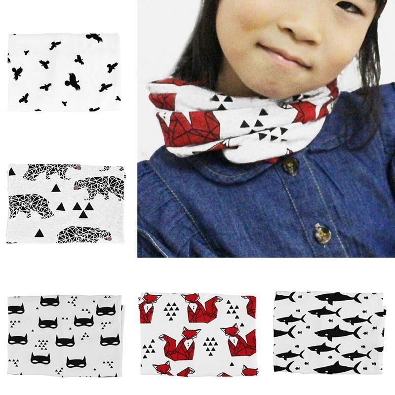2019 Toddler Boys Girls Winter Warm Collar Scarf Baby Crochet Knit O