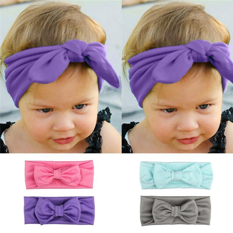 Großhandel Headwear Baby Mädchen Stirnband Baby Kids Mädchen ...