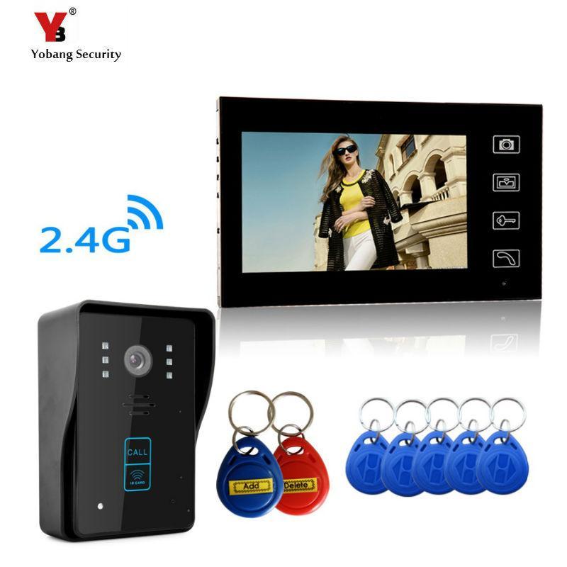 Yobang Security Resolution Wireless Video Door Phone Door Entry