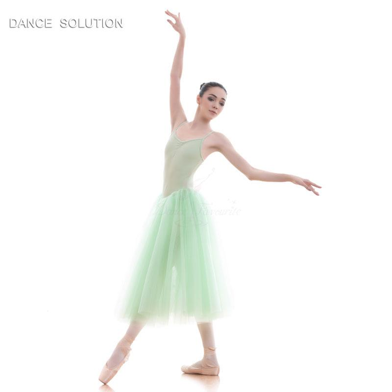 e38f91975 2019 Green Camisole Ballet Dance Tutu Romantic Length Ballerina Dress For  Child And Adult Performance Show Costumes 15089 From Cupidcloth, $88.36 |  DHgate.