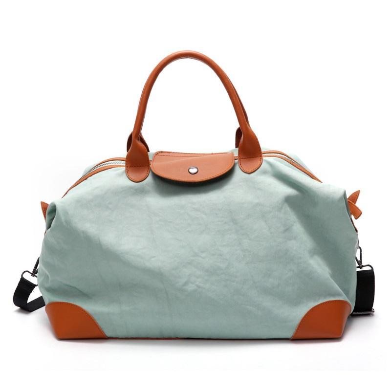 dae1c22a34 Women S Vintage Large Capacity Canvas Hand Travel Bag Aqua Patchwork  Shoulder Bag For Travel Flight Trip City Walk Hobo Bags Gym Bags From  Romantravel