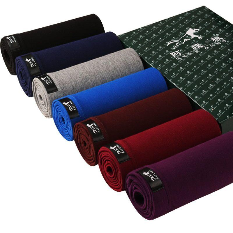 c4f6ef358ffb Compre 7 Unids / Lote Mens Boxers Verano Ropa Interior Sexy Colorido Hombre  Modal Corto Sólido Flexible Shorts Boxer Color Puro Pantalones Masculinos  ...