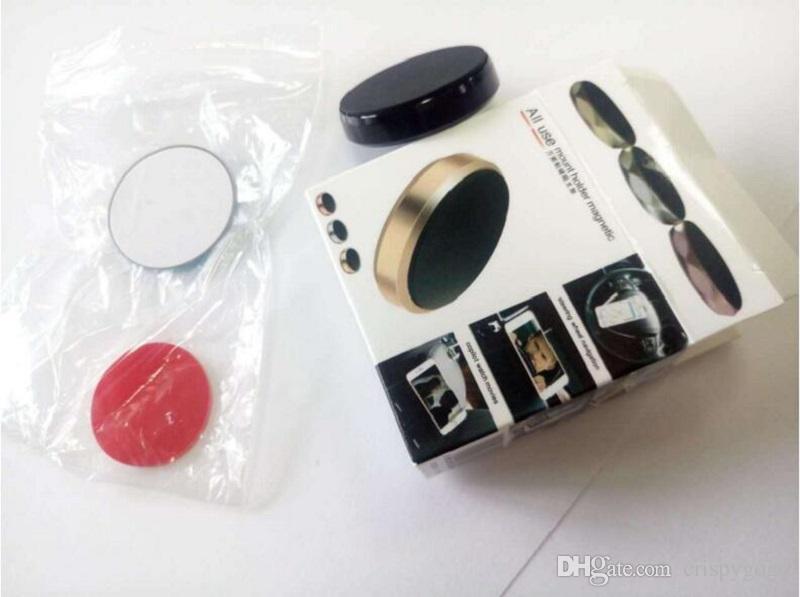 Yüksek Kalite Metal Düz Sopa Araba Manyetik Cep Telefonu Tutucu Destek Tüm cep telefonu tuşları için Paketi ile 5 kg
