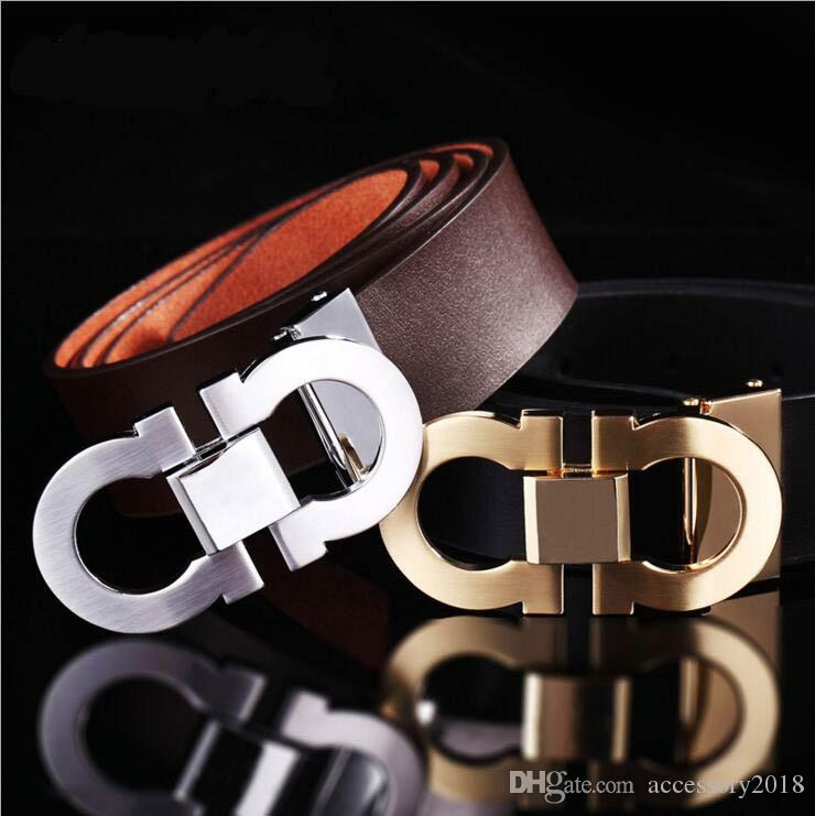2018 Hot Fashion Belts For Men Luxury Brand Genuine Leather Vintage