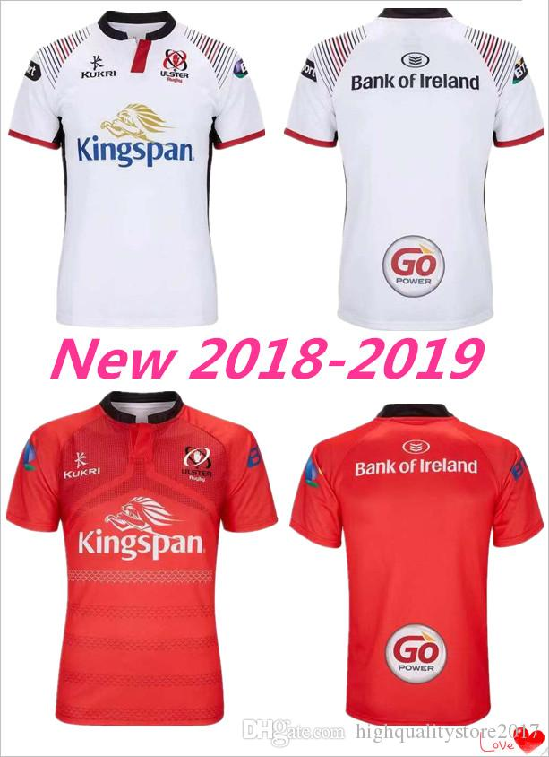 4a9c1336573 2019 New 2018 ULSTER RUGBY HOME JERSEY 18 19 ULSTER National Team League  LEINSTER Rugby Jersey Leisure Munster Rugby Jersey Size S M L XL XXL 3XL  From ...