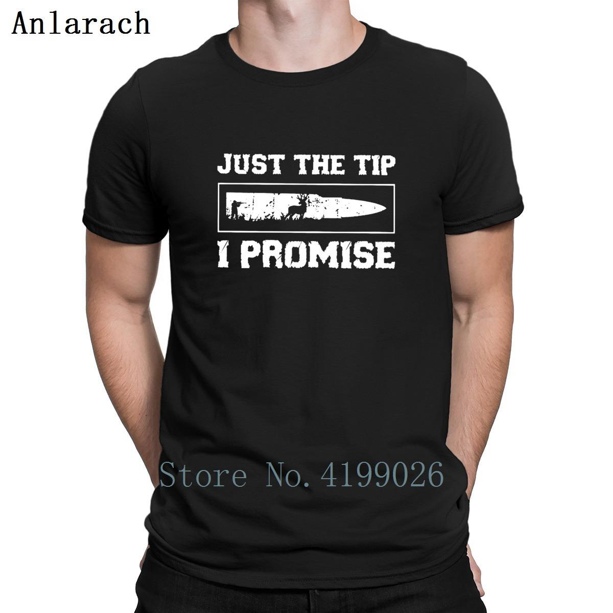 c84acd4d7 Just The Tip I Promise T Shirt Solid Color New Arrival Top Quality Custom T  Shirt For Men Cotton Normal Stylish Summer Style Ordering T Shirts Rude T  Shirt ...
