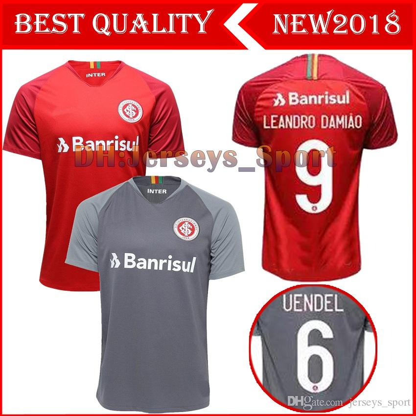 85d1927eb9 NEW 18 19 Brazil CLUB Internacional Soccer Jersey RED HOME Women ...