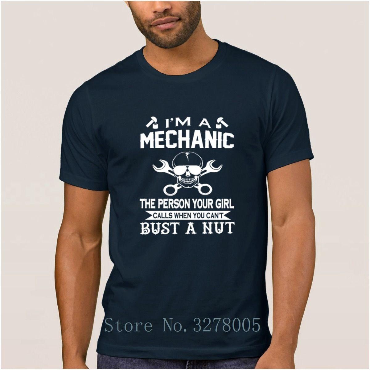 640307f41799 Design My Own Good Fashionable I M A Mechanic Men's T Shirt Formal Spring  Autumn Men T-Shirt Adult O Neck Tshirt Cheap Sale