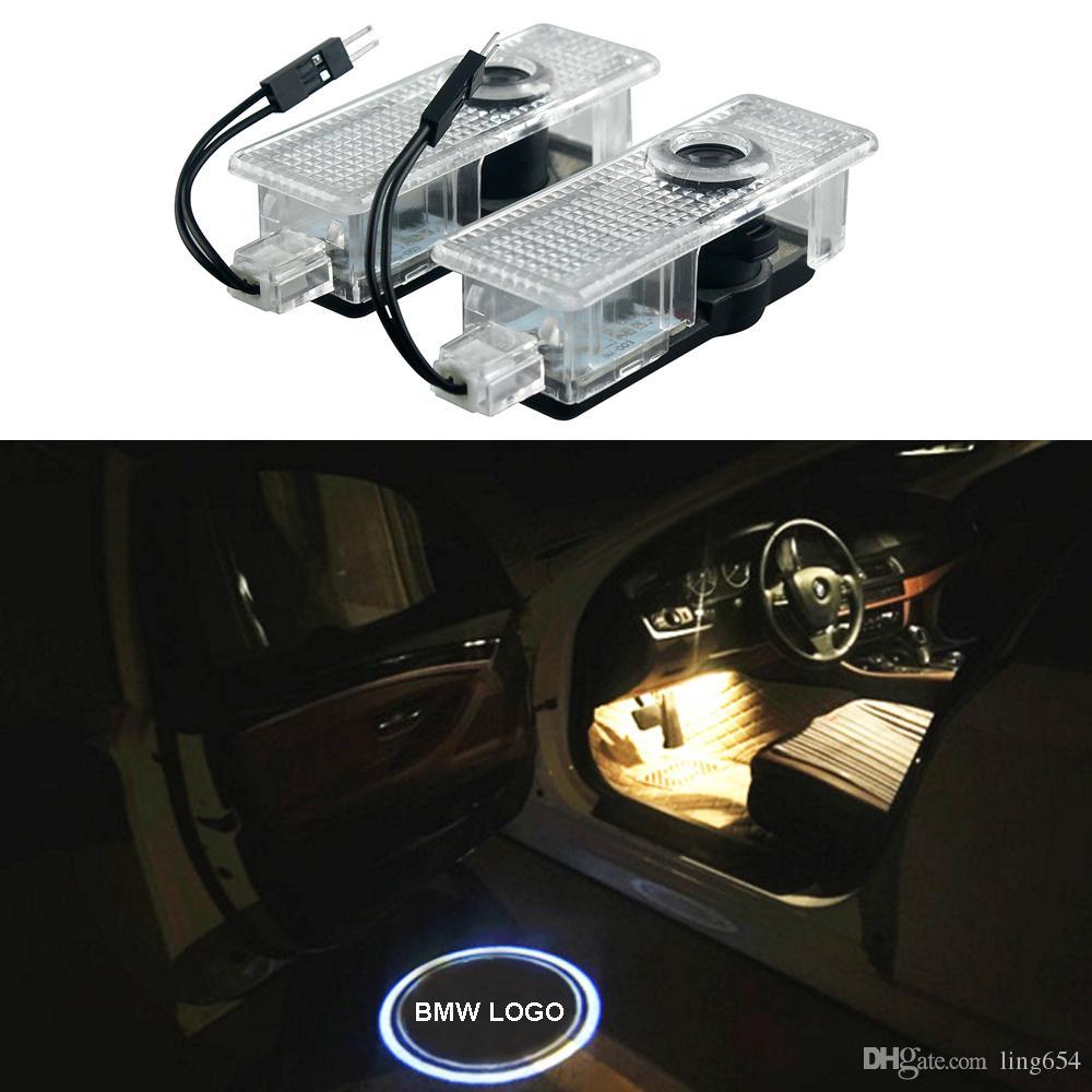 مصباح زينون الأبيض لسيارات Bmw Led Step Door Courtesy Welcome Lights مصباح لسيارات Bmw 1 3 5 6 7 X Z- سلسلة X1 X3 X5 X6 Z4 E82 E90 E91 مصباح سيارة