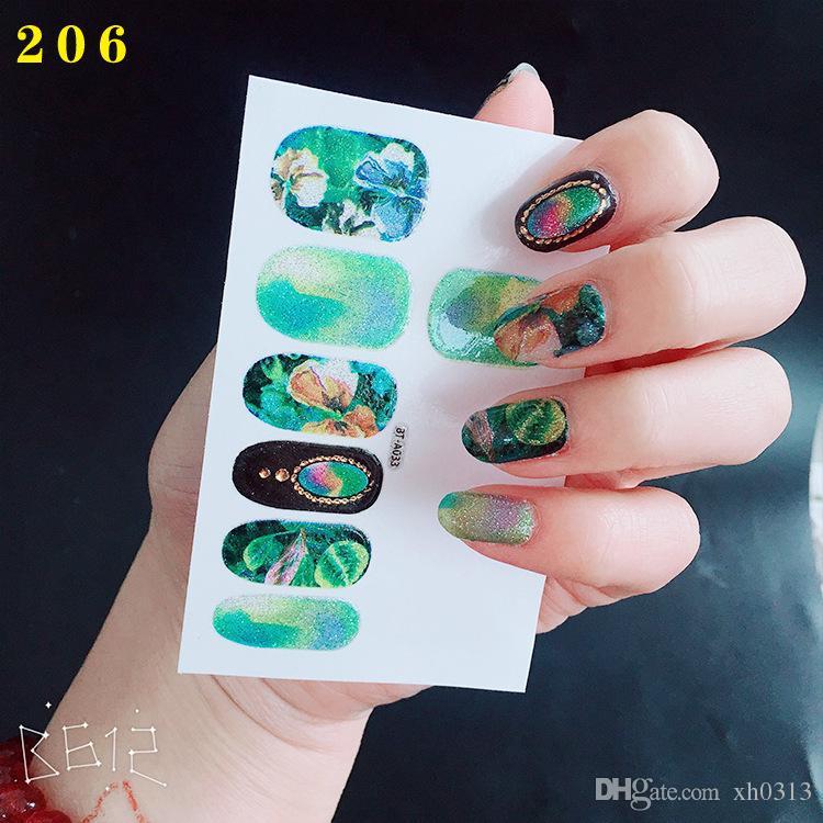 2018 Nail Art Sticker Nail Stickers Water Transfer Sticker Nail Art