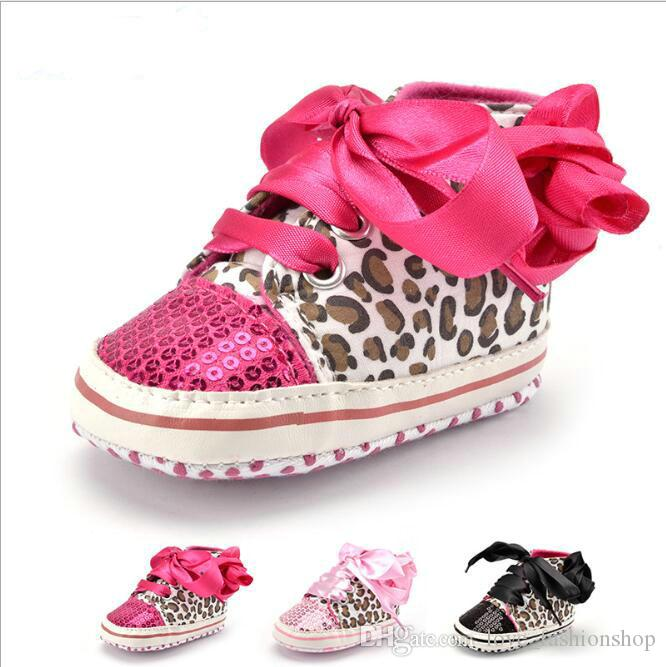 Mix Baby Bling Sequins Leopard Butterfly Knot Princess Shoes Kids ... aaf918bbf344