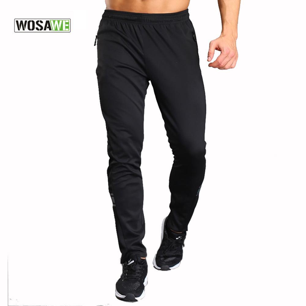 Compre WOSAWE Pantalones Para Correr Para Hombres Ropa Deportiva Polainas Deportivas  Pantalones Deportivos Para Correr Hombres Multidesación Senderismo ... b5fdf0f4cdc81