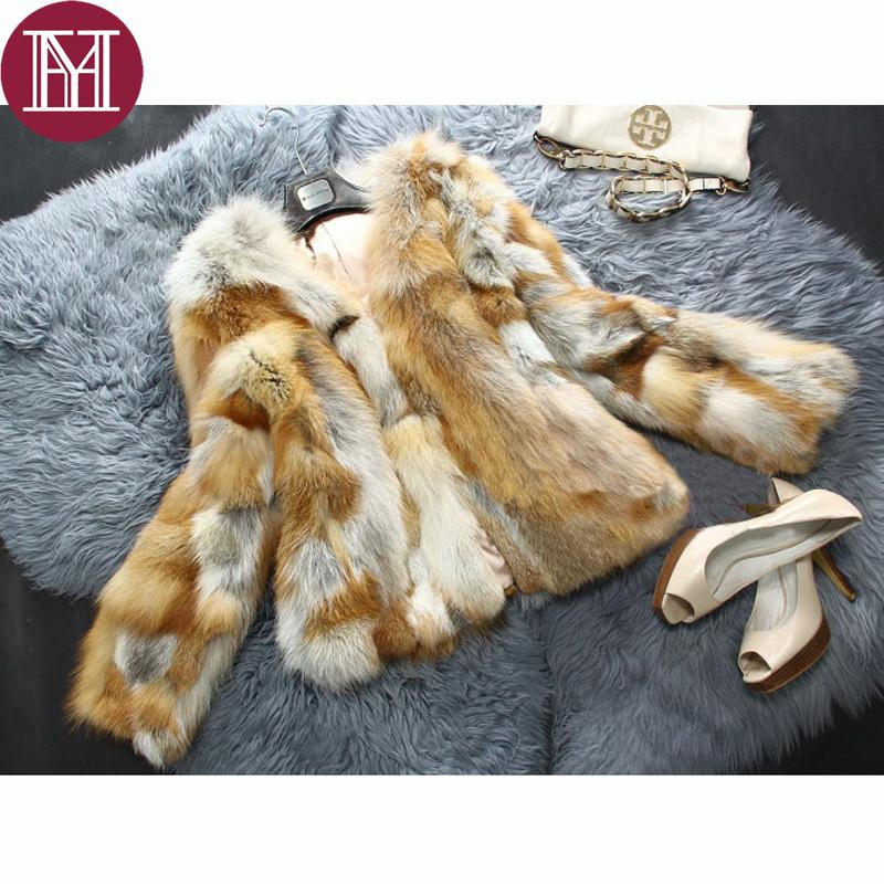 6228e9357b 2019 2017 Brand Women Natural Red Fox Fur Jacket Short Style Lady Genuine  Fox Fur Coat Outerwear Fashion From Xiatian6, $164.36 | DHgate.Com