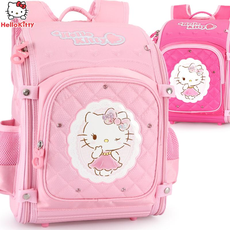 Hello Kitty School Backpack Kids Bag Children School Bags For Girls Primary  Schoolbag Orthopedic Backpacks Plecak Bolsa Fashion Bags Laptop Messenger  Bags ... 1665cde4360c8