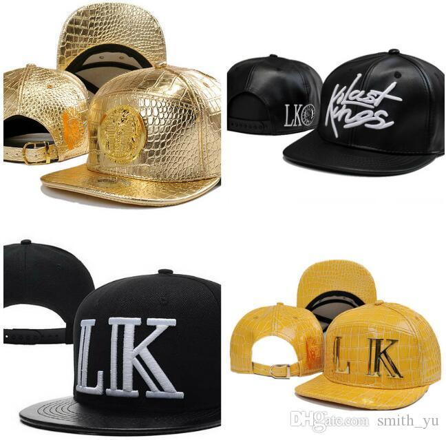 High Quality LK Leather Snapback Caps   Hats Snake Skin Street Snapbacks  Lastking Snap Back Hat Men Women Baseball Cap Cheap Sale Baseball Cap Flat  Cap From ... 10b488dfd3af