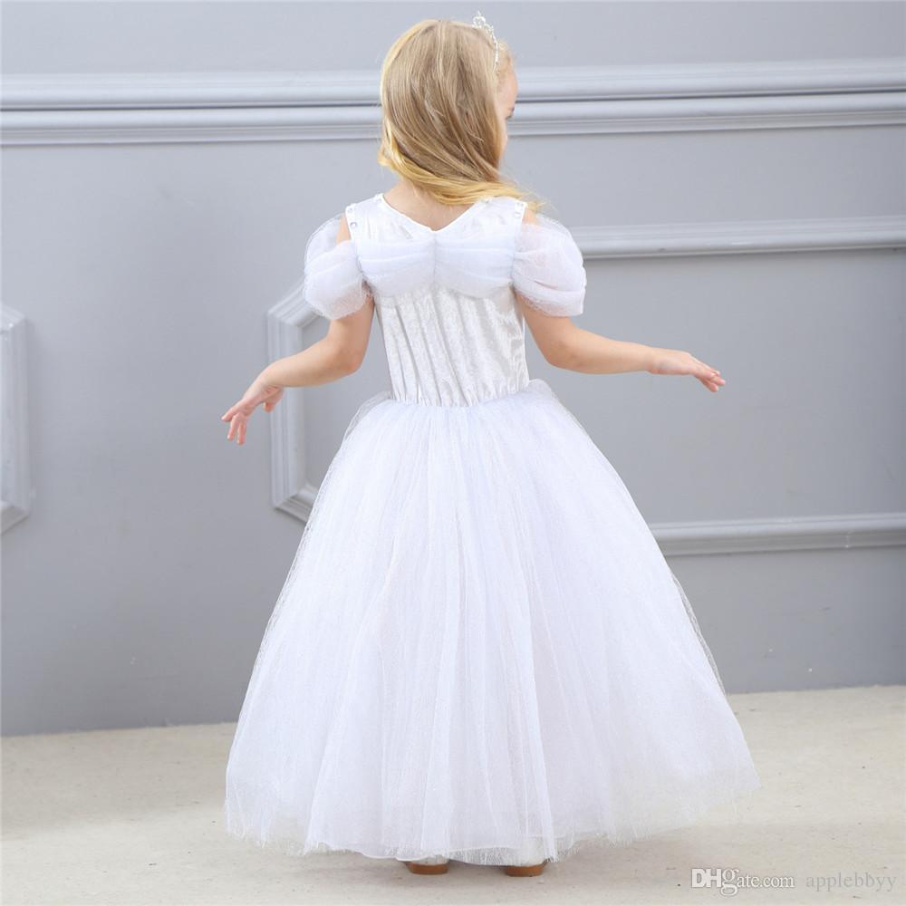 Mädchenprinzessin Kleid TUTU pettiskirt Schmetterlingskristalldekoration Hochzeitsgeburtstagsfeierkostüme zeigen Kleid DHL geben Verschiffen frei