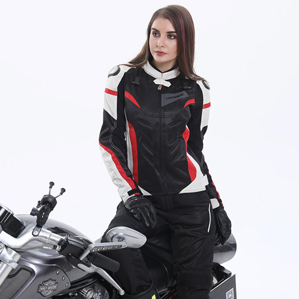2019 Cycling Motorcycle Jackets Women Motocross Jacket Protective