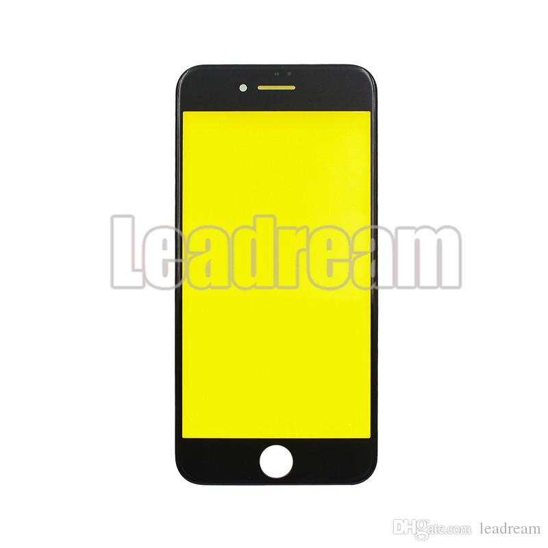 OEM Front Outer Glass Touch Screen Glass Lens with Frame for iPhone 8 Plus free DHL
