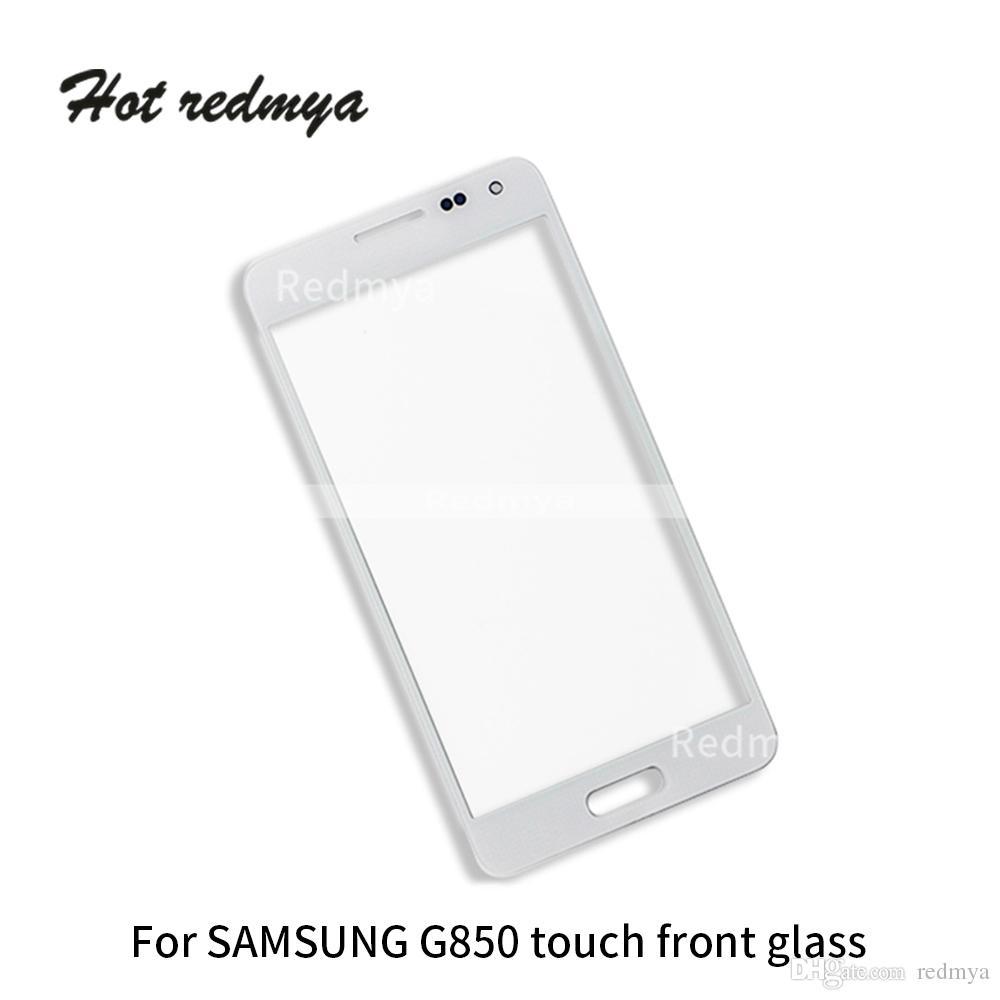 1c4a8237eda Fundas Para Telefonos 100 Unids / Lote Para Samsung Galaxy E5 E500 E500F  E500M, Alpha G850 Pantalla Táctil Frontal Cristal Teléfono Pantalla Panel  ...