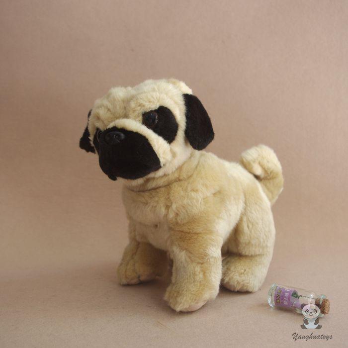 2019 Stuffed Animal Toys Cute Plush Standing Pug Dog Doll Children S