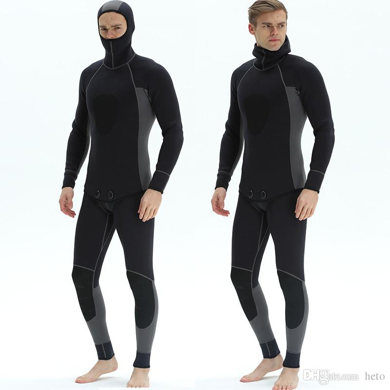 Cheap 3mm Neoprene Scuba Diving Two-piece Suits for Men Swimming 894759c34