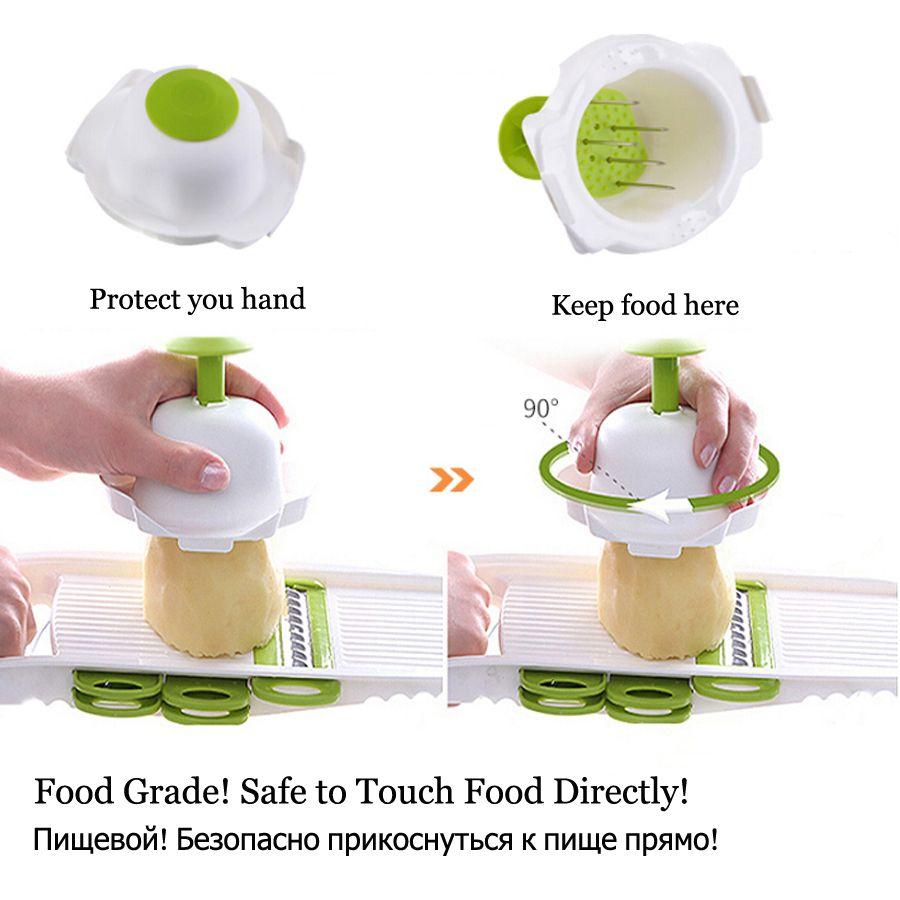 Best Quality Mandoline Peeler Grater Vegetables Cutter With 5 ...