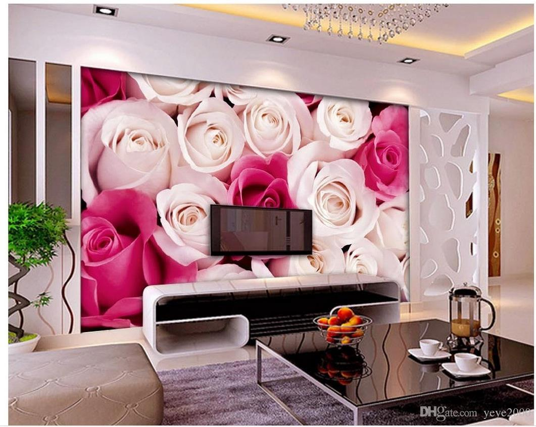 Wall Papers Home Decor Designers Full Screen Rose Flower Wall