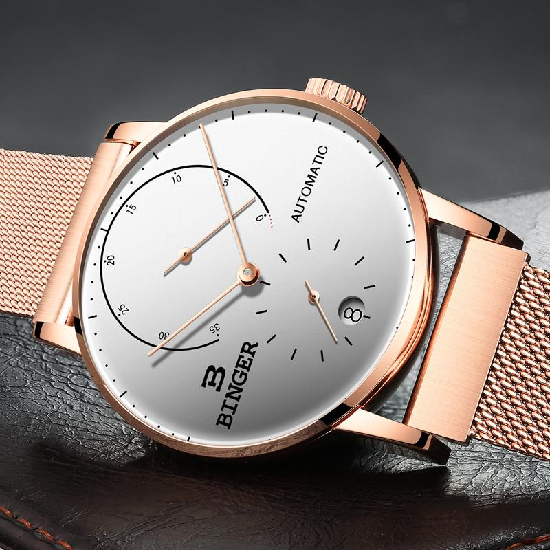 Compre Suiza BINGER Hombres Reloj De Lujo Marca Mecánico Automático Relojes  De Hombre Zafiro Masculino Japón Movimiento Reloj Hombre B 1187 8 A  355.33  Del ... 413dc01a2821