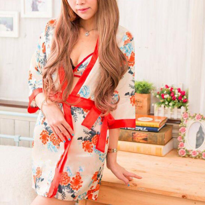 New Sexy Japanese Kimono Women Bra Lingerie Pajama Cosplay Costume Sexy Underwear Erotic Sexy Babydoll Bodystocking