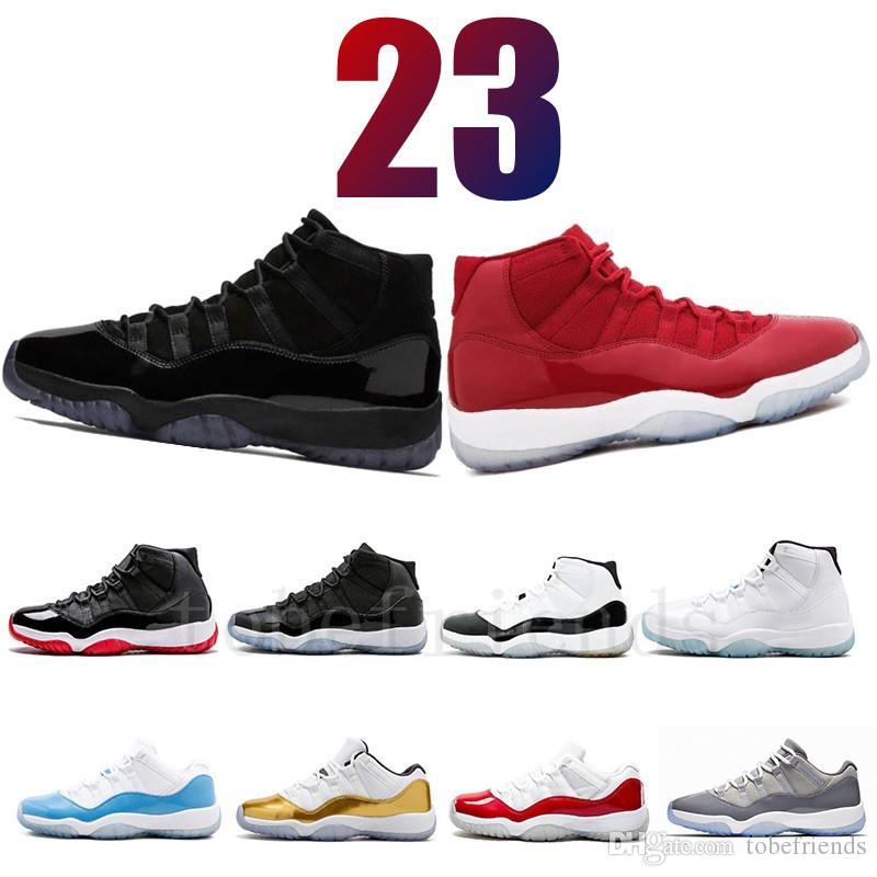 15559657353ebf 11 Prom Night Gym Red Midnight Navy Black Stingray Bred Concord Space Jam  Shoes 11s Mens Womens Kids Basketball Sneaker Us 5.5 13 Sports Shoes For  Women Low ...