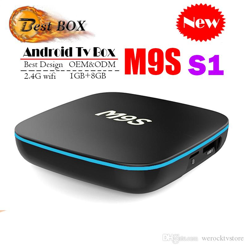 4k Android Tv Box 2018 Günstigste M9s S1 Android Smart Tv Box Quad