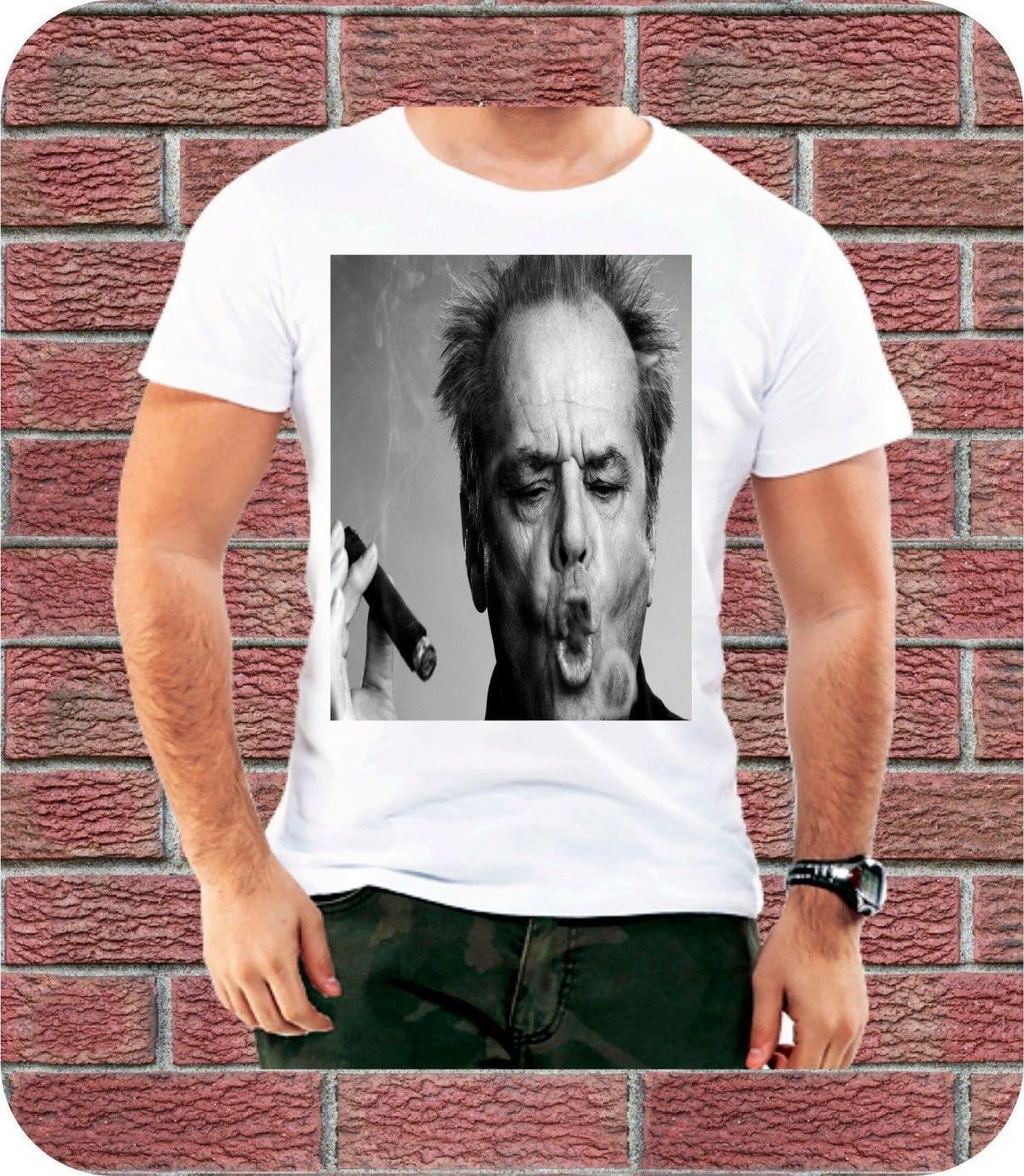 Jack Nicholson Cigar Men T Shirt St Jude Birthday Christmas Present ...