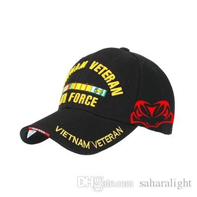 74492ef23e021 New Popular Embroidery SEAL Baseball Cap Tactical Hat Vietnam Veterans  Memorial Military Hat Duck Breathable Cap Adjustable Flat Bill Hats  Baseball Hat From ...