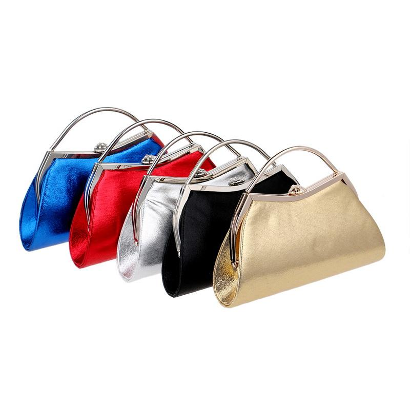 09cdd82d4a7 Solid Simple Design Evening Party Handbag Bridal Wedding Party Small Wallet  Lush Material Round Ball Shape Purses Women Wholesale Handbags Cheap  Handbags ...