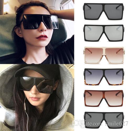 b823a63480 2018 Hot Sale New Fashion Trend Women Sunglasses Classic Square Very ...