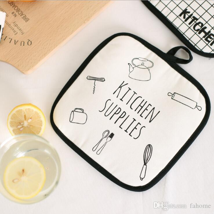 2018 Cotton Dining Table Place Mats Coaster Table Decor Coffee ...