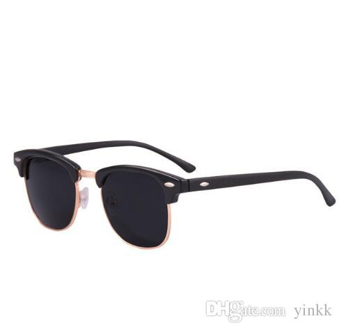 23fb6b2dec Fashion Sunglasses Men Women Circle Sun Glasses Brand Designer Metal Unisex High  Quality Round 51MM Glass Lens Mirror With Brown Case Box Online Eyeglasses  ...