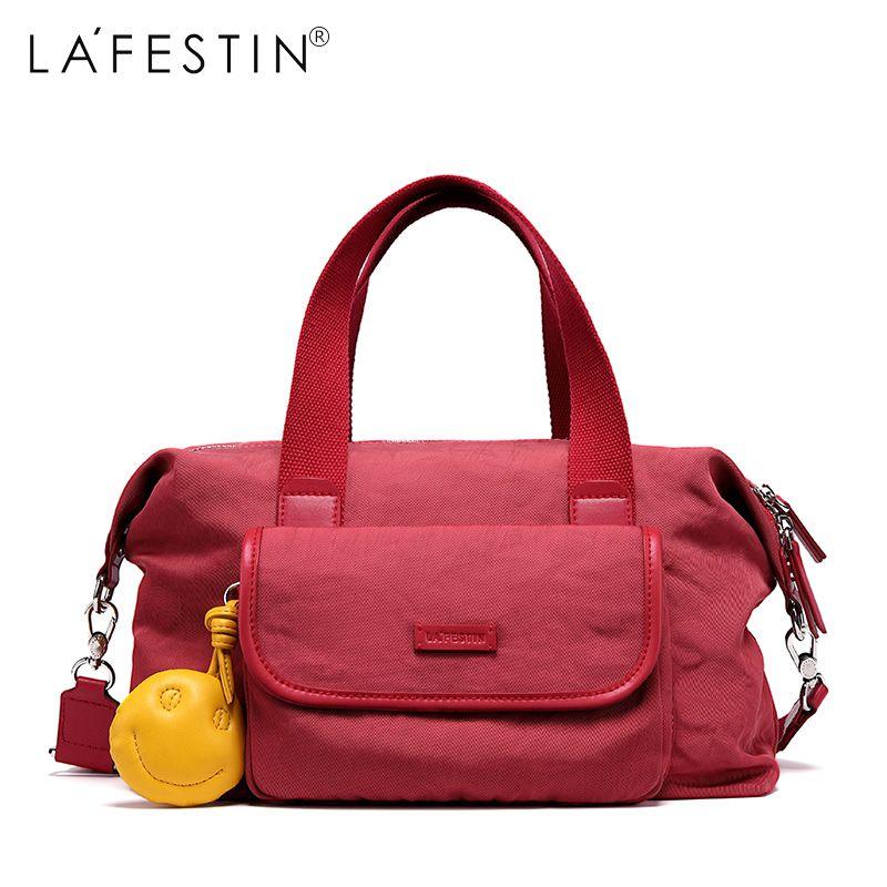 49b40c8257ec LAFESTIN Women Travel Bag Large Capacity Tote Shoulder Luggage Bag ...