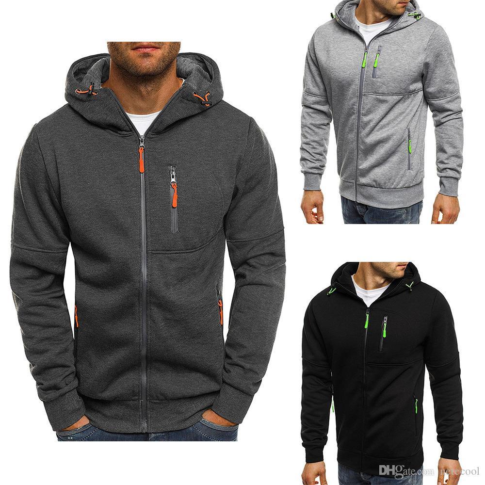 4d42e66d 2019 Hoodies Men 2018 Fashion Hoodies Brand Men Personality Zipper Sweatshirt  Male Hoody Tracksuit Hip Hop Autumn Winter Hoodie Mens For Women From  Netecool ...