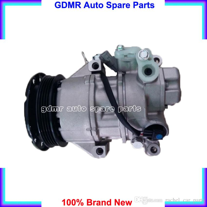 2NZ engine 4PK Auto air conditioner compressor 88310-52551 ac compressor  88310 52551 for Toyota yaris 1 3 L