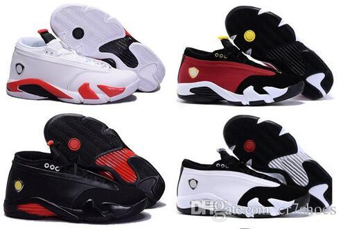 7c3ca79240c972 14 XIV Oxidized Green Indiglo Thunder Playoffs Black Toe Red Suede 14s Mens  Women Basketball Shoes Sneakers Last Shot Sport Shoes Mens Basketball Shoes  Men ...