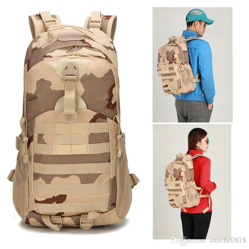 6077b81884c64 Tactical Backpack Waterproof 1000D Oxford Men s Women Camouflage Molle Bag  Outdoor Hiking Camping Backpack 511 Rucksack