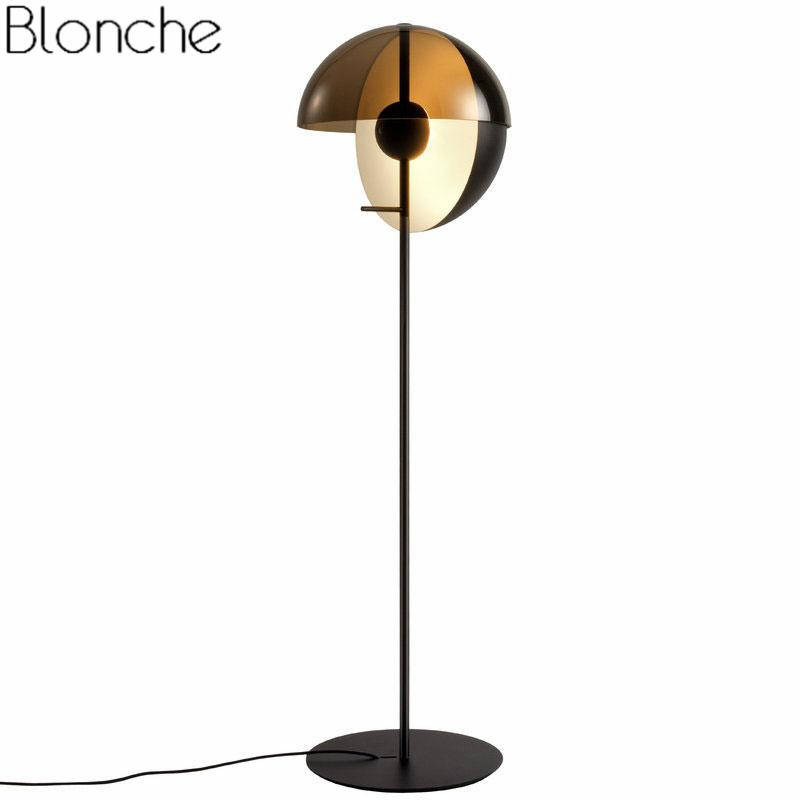 2019 Modern Stand Floor Lamp Led Ball Standing Lights For Living