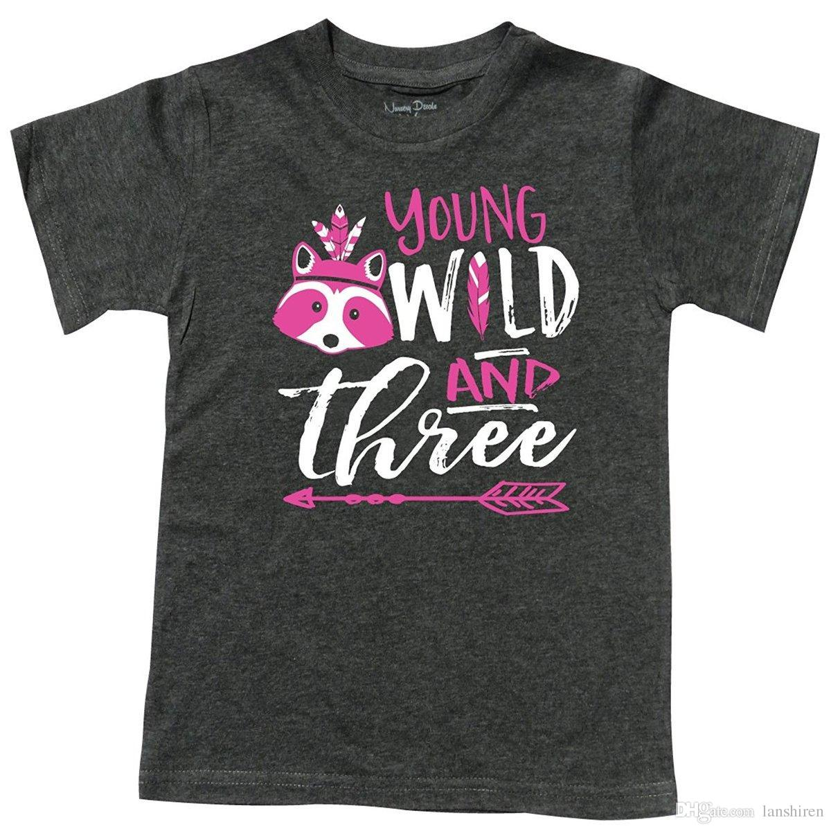 Birthday T Shirts Gifts For 3 Yr Olds 3rd Three Hilarious Designer Shirt From Lanshiren 1269